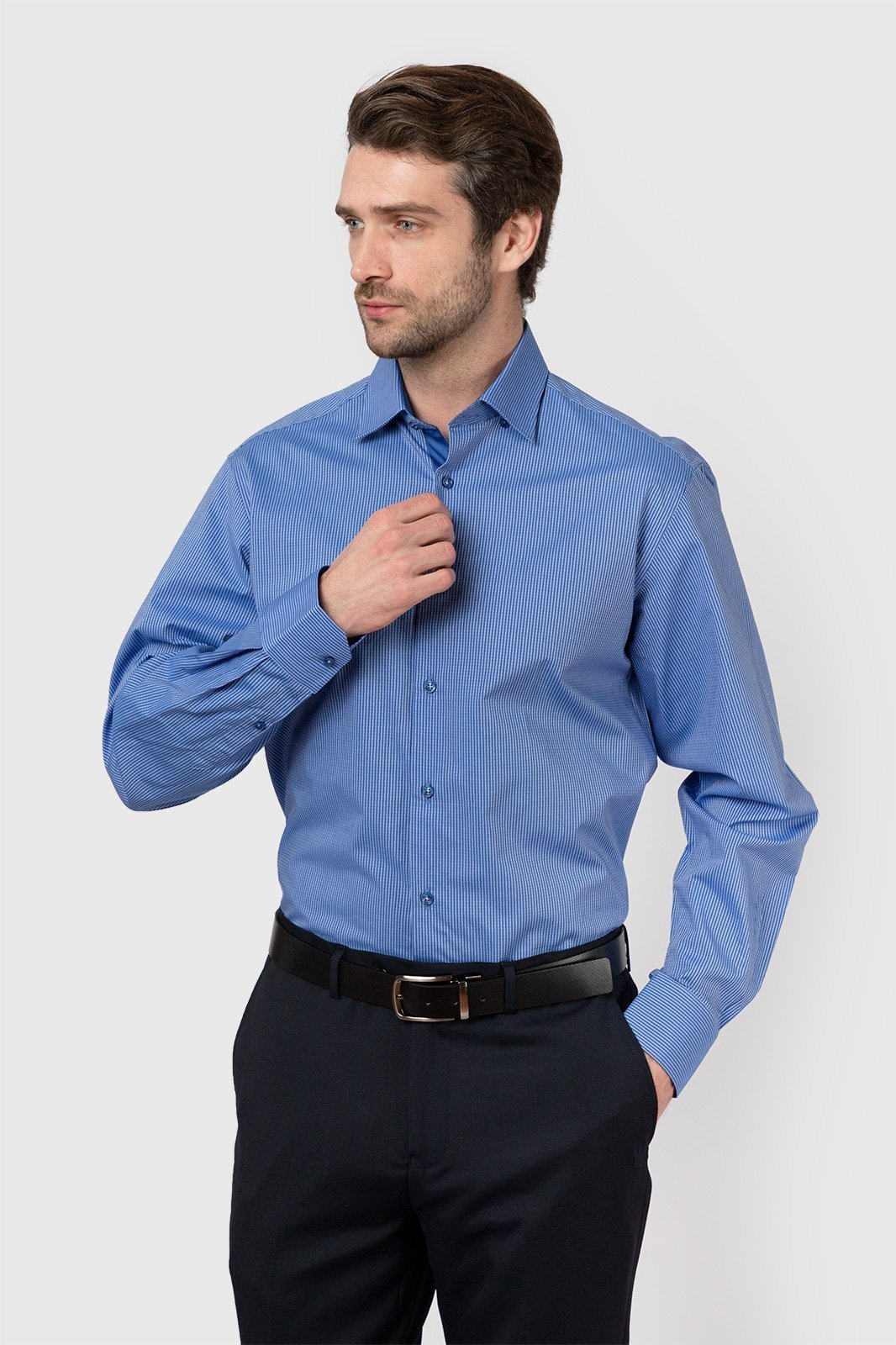 Рубашка прямая из хлопка KANZLER