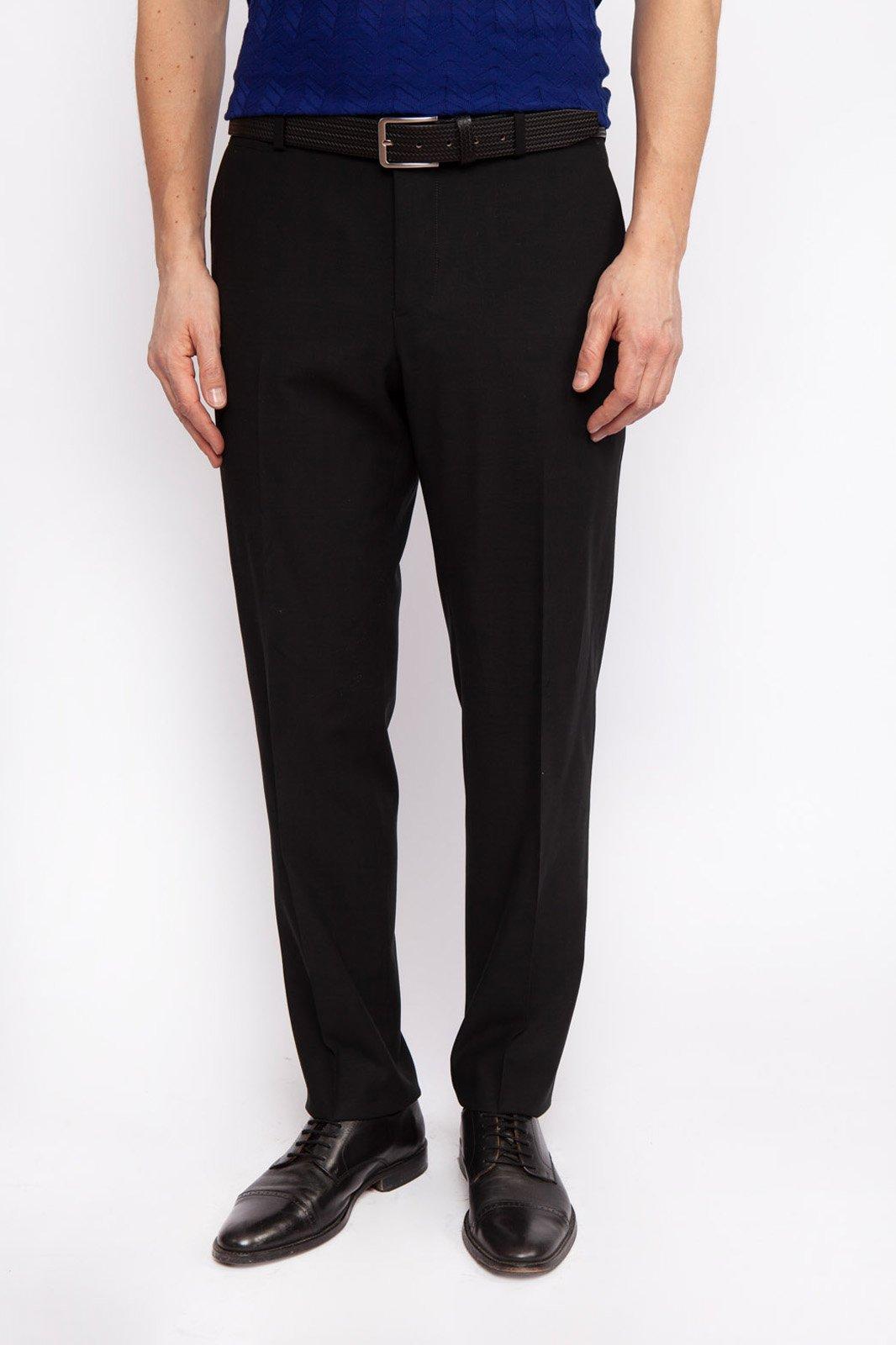 Зауженные брюки из шерсти KANZLER
