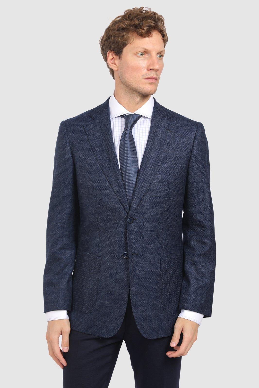 Прямой пиджак из шерсти KANZLER
