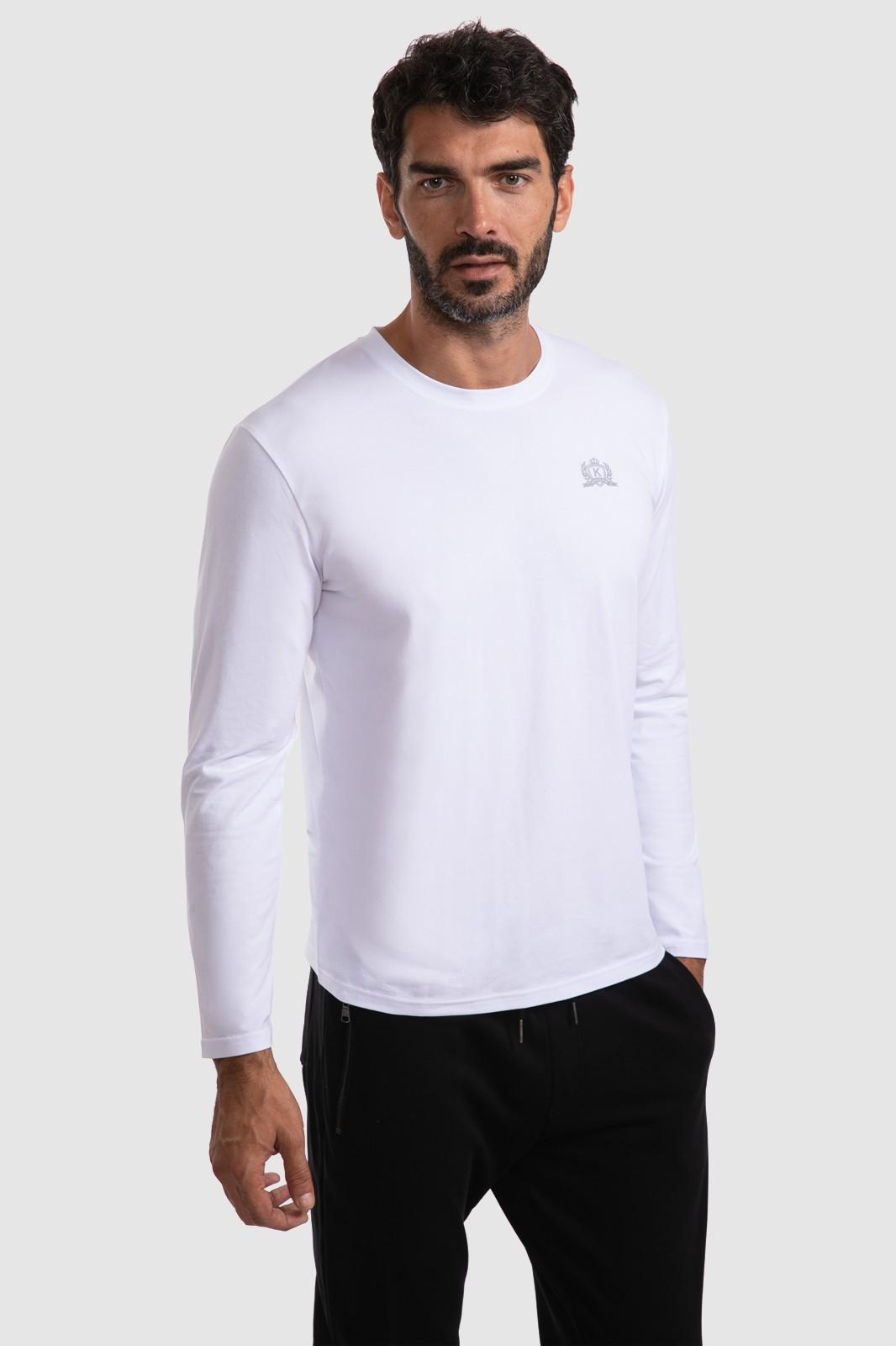 Фото - Kanzler Футболка с длинным рукавом из хлопка KANZLER футболка с длинным рукавом opium футболка с длинным рукавом
