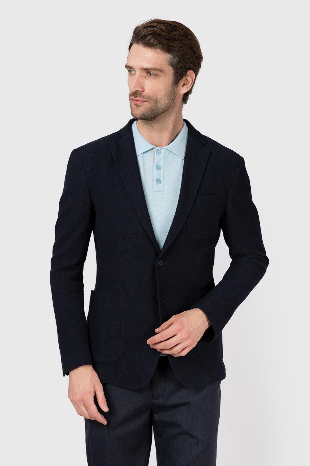 Пиджак из хлопка KANZLER